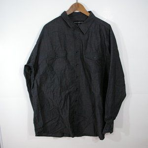 Beverly Hills Polo Club BHPC Long Sleeve Button Up Shirt Size 3XLB XXXLB